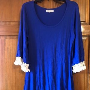 Great Condition! Blue boutique type dress